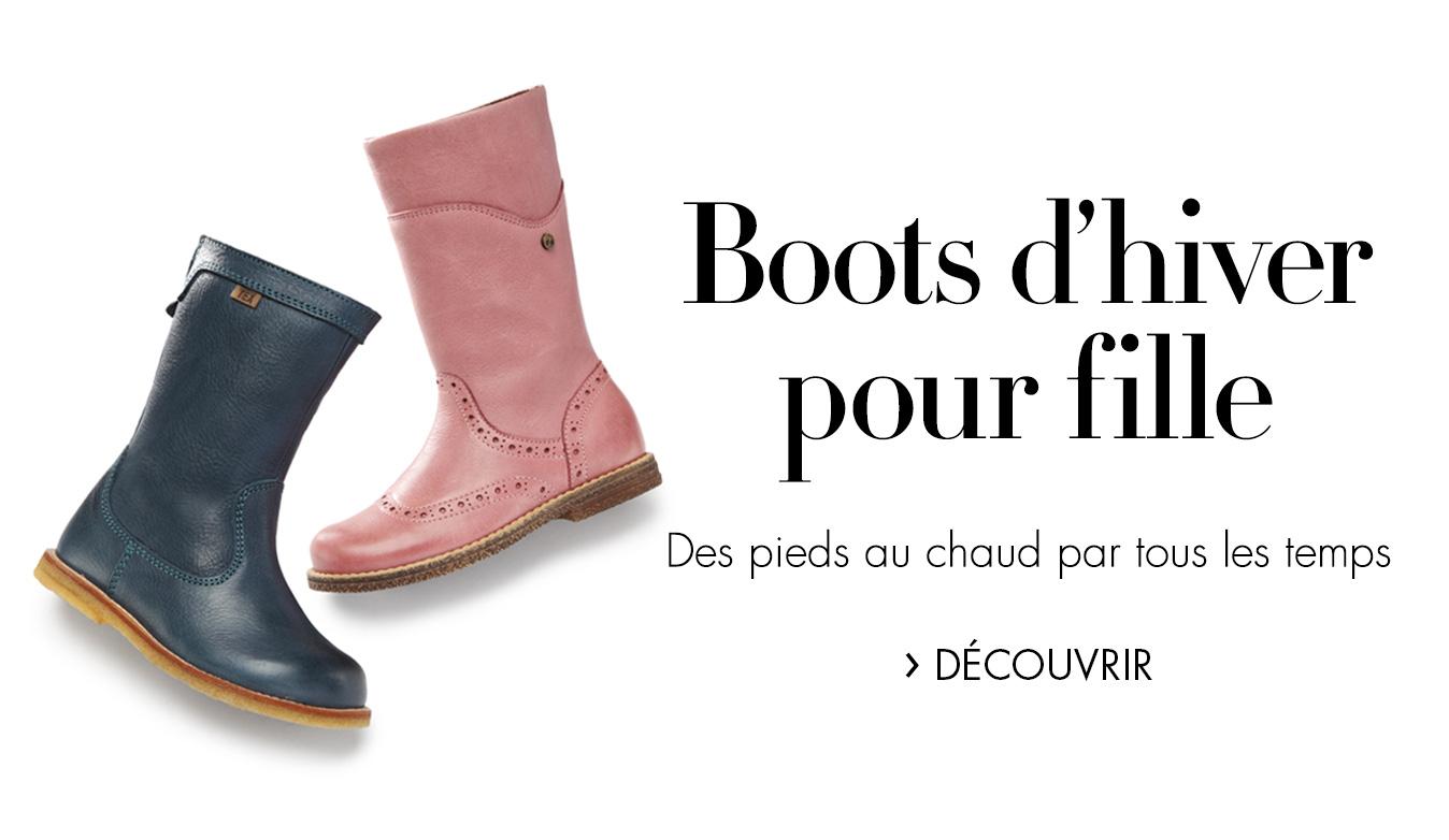 Boots d'hiver pour les fille