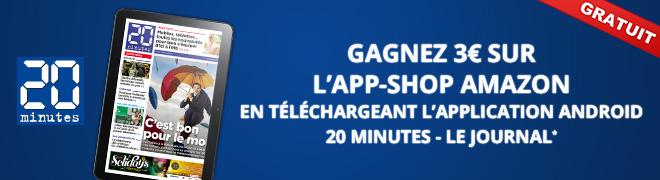 Recevez 3� sur l'App-Shop en t�l�chargeant 20 Minutes - le journal