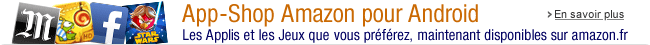 App-Shop Amazon maintenant disponible sur amazon.fr