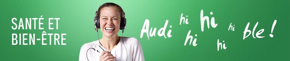 Livres audio Santé et bien-être. Audible !