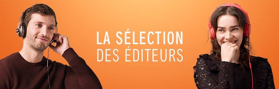 La sélection des éditeurs