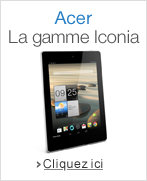 Tablettes Acer Iconia