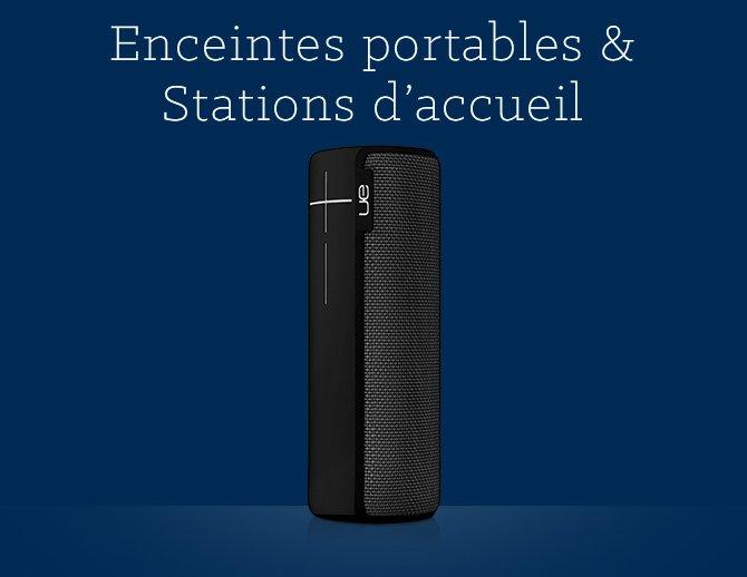 Enceintes portables & Stations d'accueil