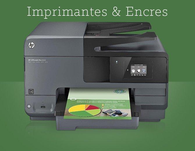 Imprimantes & Encres