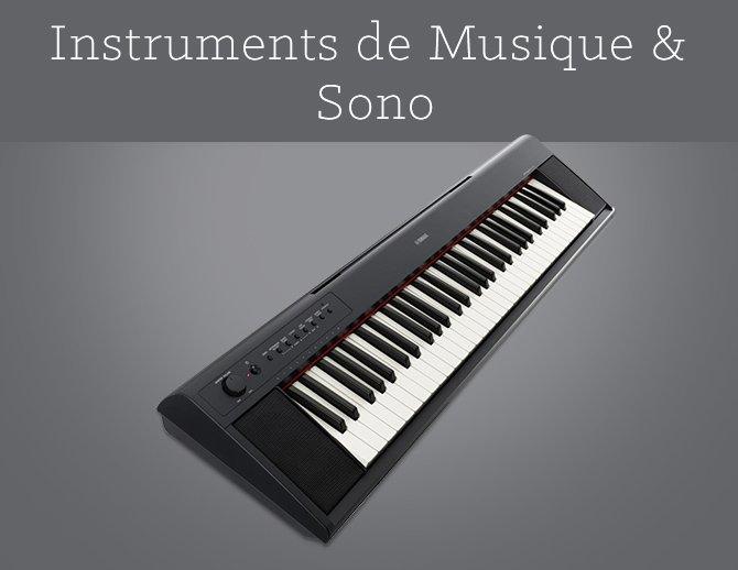 Instruments de Musique & Sono