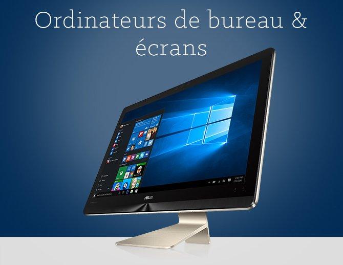 Ordinateurs de bureau & écrans