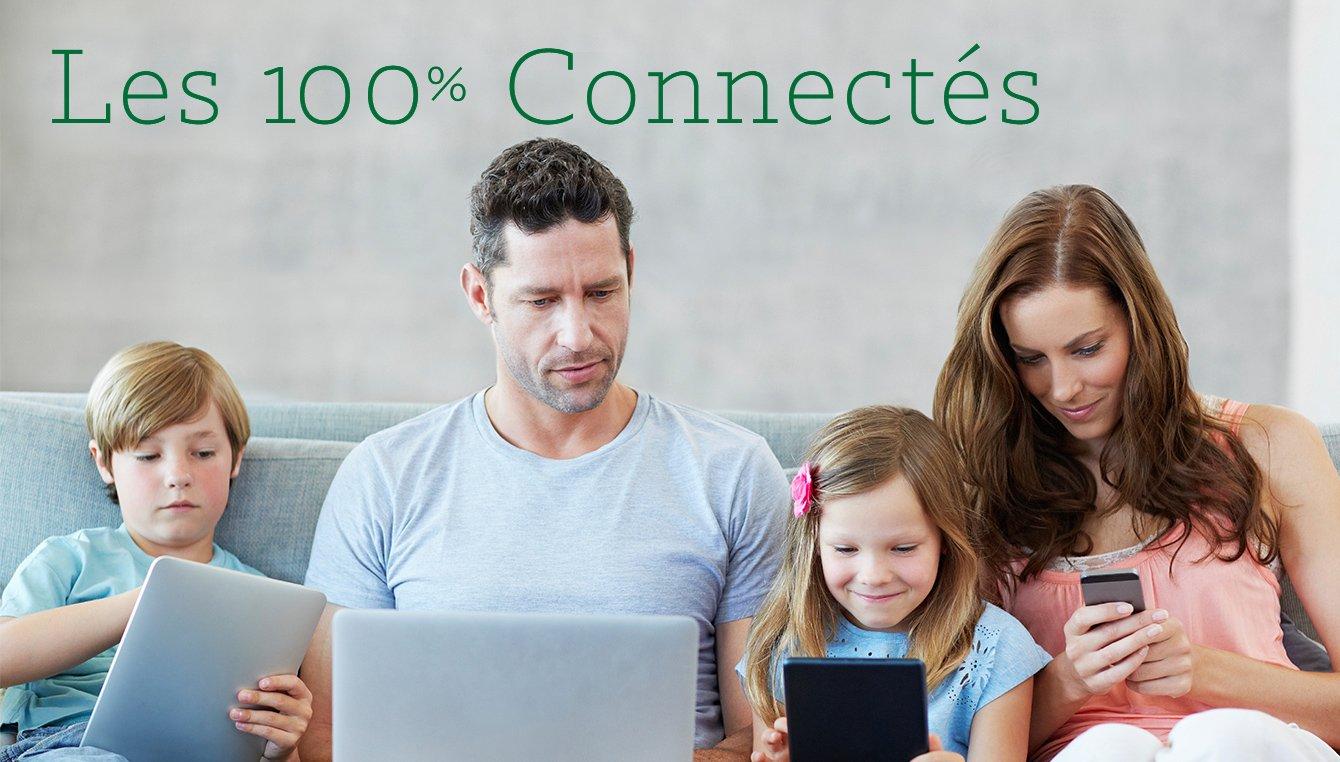 Les 100% Connectés