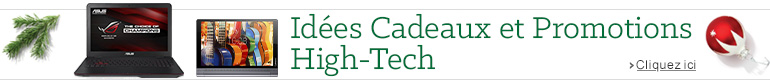 Découvrez le guide d'idées cadeaux High-Tech