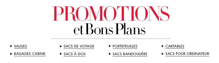 Promotions et Bons Plans