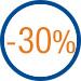 Happy prix: 30 pour cent de réduction