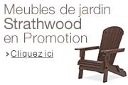 Strathwood meubles de jardin en promotion