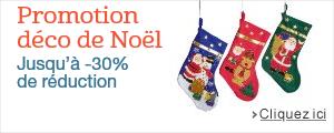 Jusqu'� -30% sur les d�corations de No�l