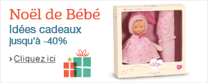 Cadeaux de Noël pour Bébé jusqu'à -40%