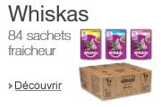 Nouveaux sachets whiskas