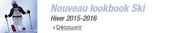 Nouveau lookbook Ski Hiver 2015 2016