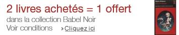 Promotion Babel Noir