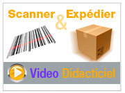 Scanner et expdier - Vido didacticiel