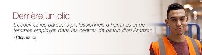 D�couvrez les parcours professionnels dhommes et de femmes employ�s dans les centres de distribution Amazon