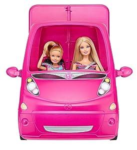 Barbie Bjn62 Accessoire Pour Poupée Camping Car