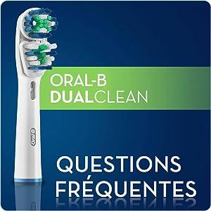Oral-B - Brossettes - EB417 x 3 - Dual Clean