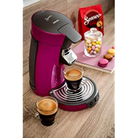 machine a cafe senseo rose