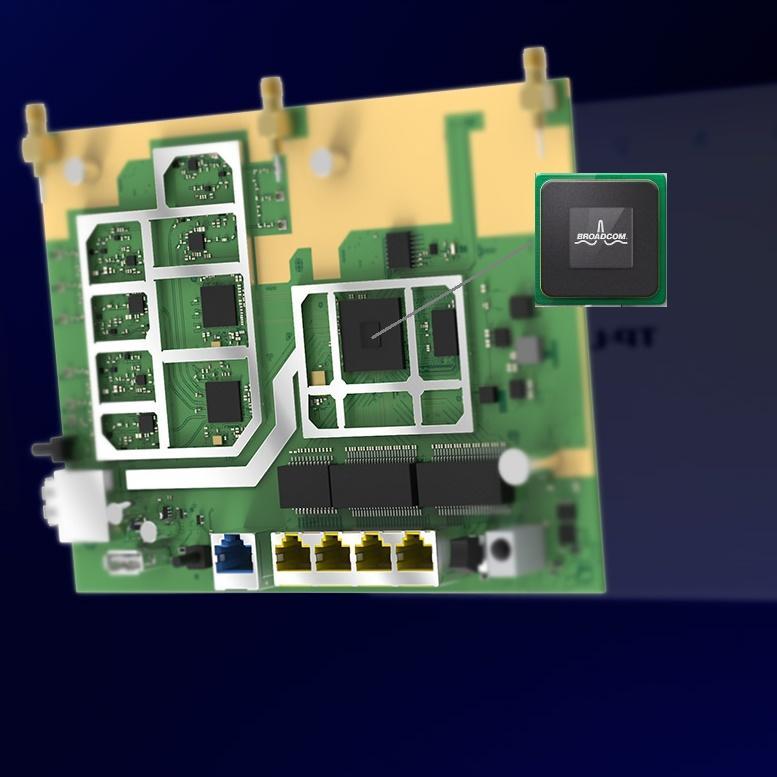 TP Link Archer C9 Routeur Gigabit WiFi Double Bande AC 1900 Mbps (4