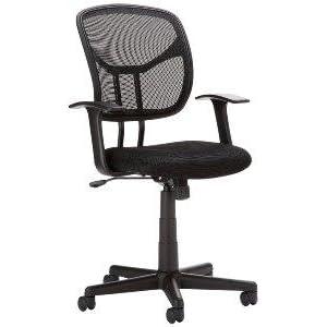 amazonbasics fauteuil de bureau dossier mi haut maill cuisine maison. Black Bedroom Furniture Sets. Home Design Ideas
