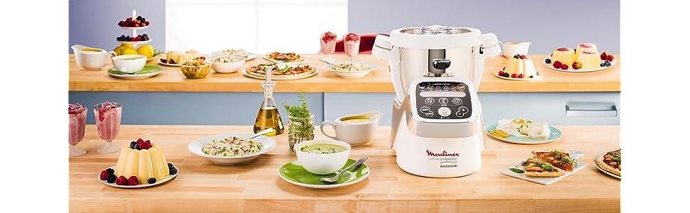 robot cuiseur moulinex hf802aa1 companion cuisine maison. Black Bedroom Furniture Sets. Home Design Ideas