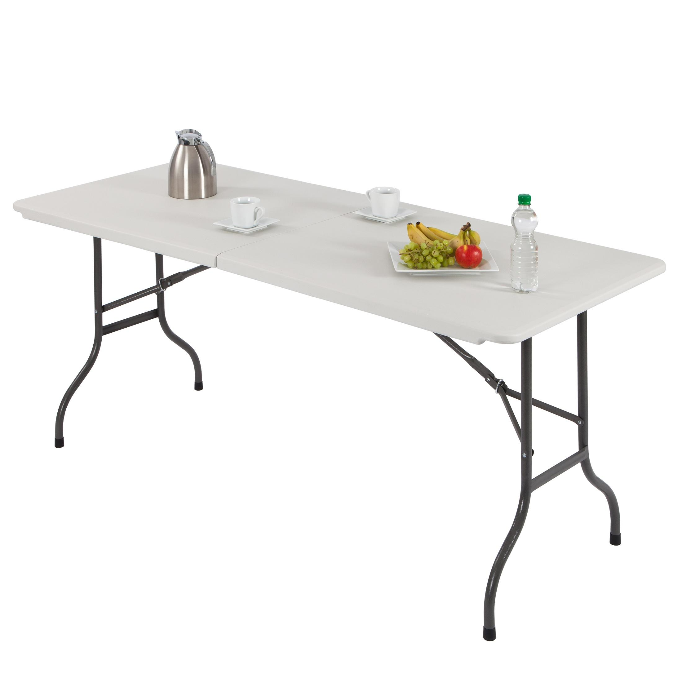 Ultranatura table pliante multiusage en plastique gamme for Table pliante de cuisine pas cher