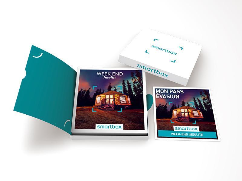 smartbox coffret cadeau week end insolite 755 s jours cabanes yourtes roulottes tipis. Black Bedroom Furniture Sets. Home Design Ideas
