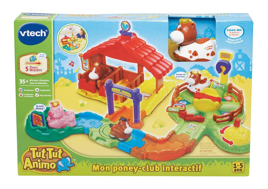 vtech a1504967 figurine animal poney club tut tut animo jeux et jouets. Black Bedroom Furniture Sets. Home Design Ideas