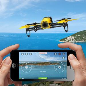 Parrot BeBop Drone Rouge pour Smartphone/Tablette: High