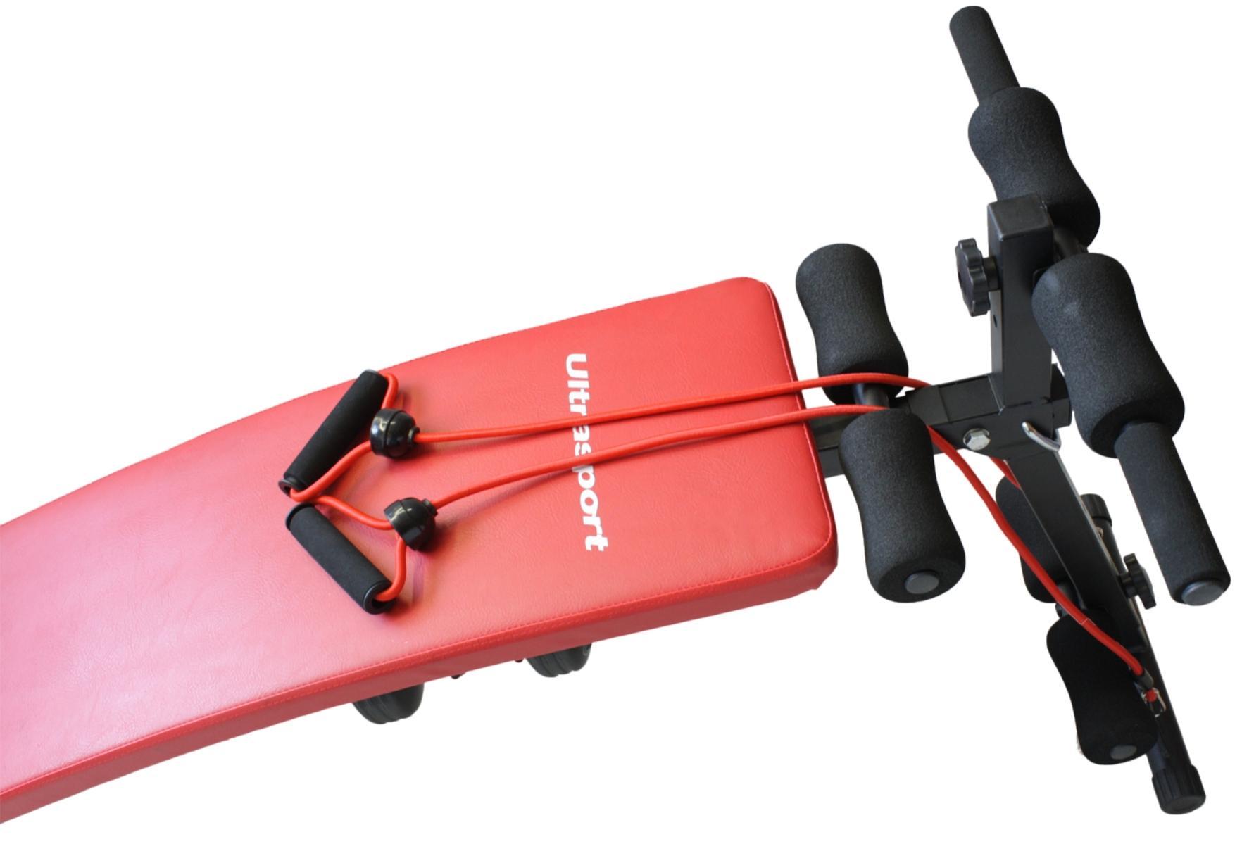 ultrasport banc abdos 3 en 1 appareil pour abdominaux. Black Bedroom Furniture Sets. Home Design Ideas