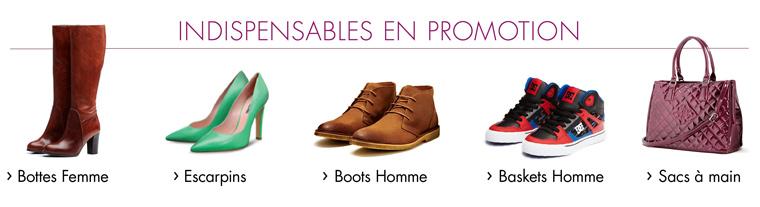 Les indispensables Chaussures et Sacs