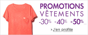 Promotions v�tements