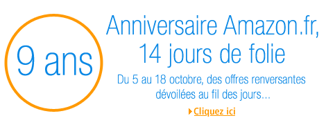 l'anniversaire Amazon.fr