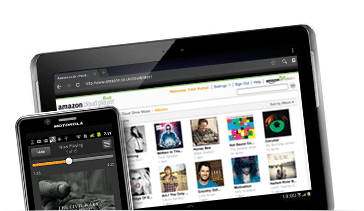 Application Amazon MP3 pour Android