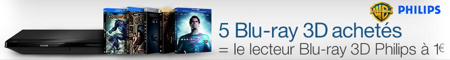 Offre Lecteur Blu-ray 3D Philips
