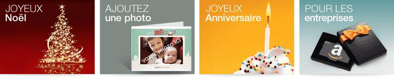 Chèques-cadeaux Amazon.fr