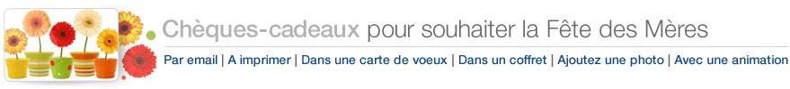 Chèques-cadeaux Amazon.fr pour souhaiter Joyeuse Fête des Mères