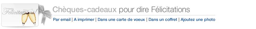 Chèques-cadeaux Amazon.fr pour dire Félicitations