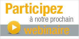 Participez  notre prochain webinaire