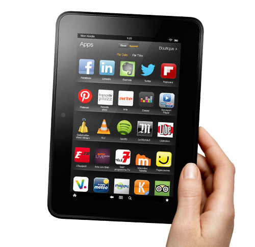Kindle Fire HD : App-Shop