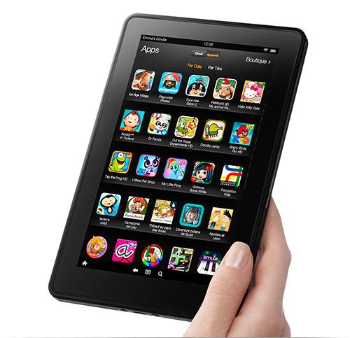 Kindle Fire : applis et jeux