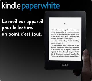 Liseuse Kindle Paperwhite : découvrez-la