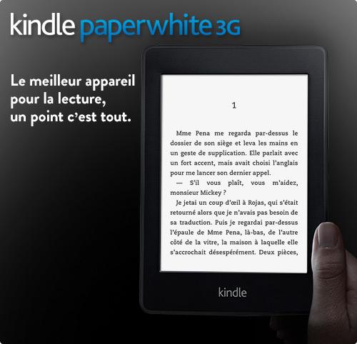 Liseuse Kindle Paperwhite : d�couvrez-la