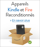 Kindle et tablettes Fire reconditionnés