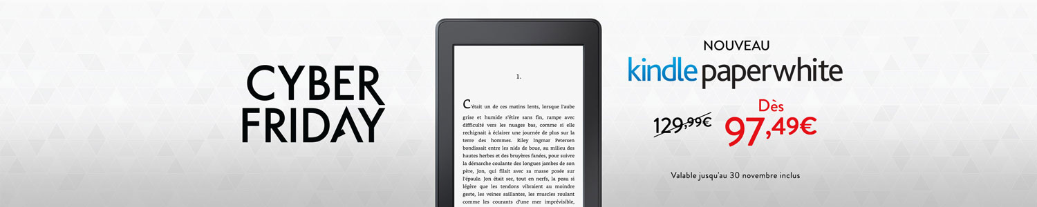 Nouveau Kindle Paperwhite