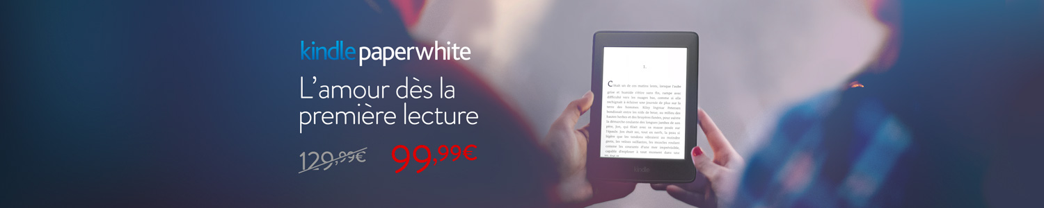 30 euros de réduction sur Kindle Paperwhite
