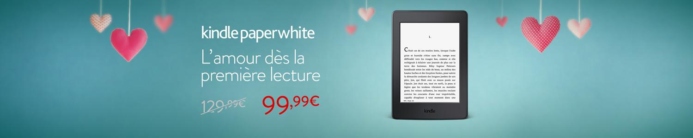 30 euros de réduction sur Kindle Paperwhite